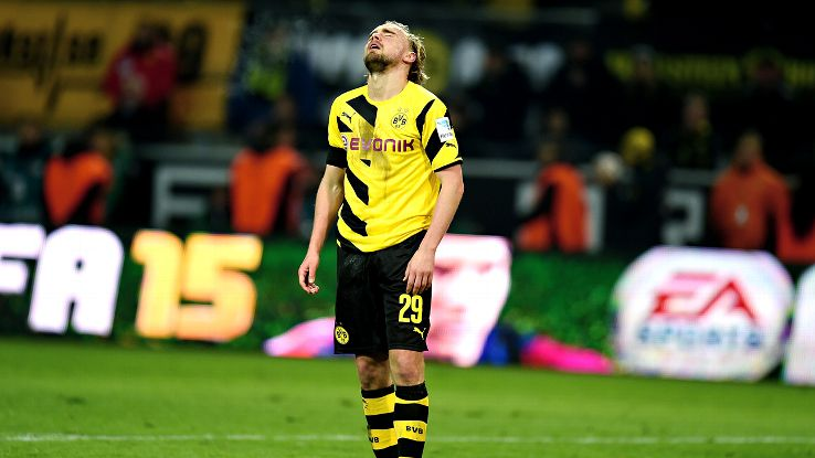 Marcel Schmelzer and Borussia Dortmund are rock bottom in the Bundesliga with just 16 points.