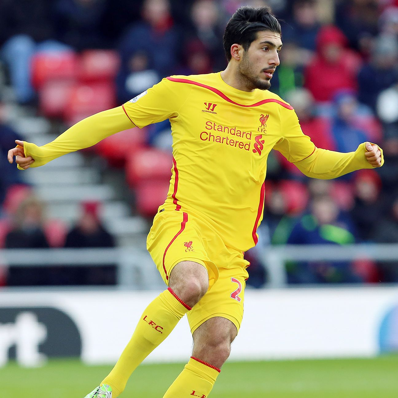 Emre Can has thrived playing in Liverpool's three-man defence.