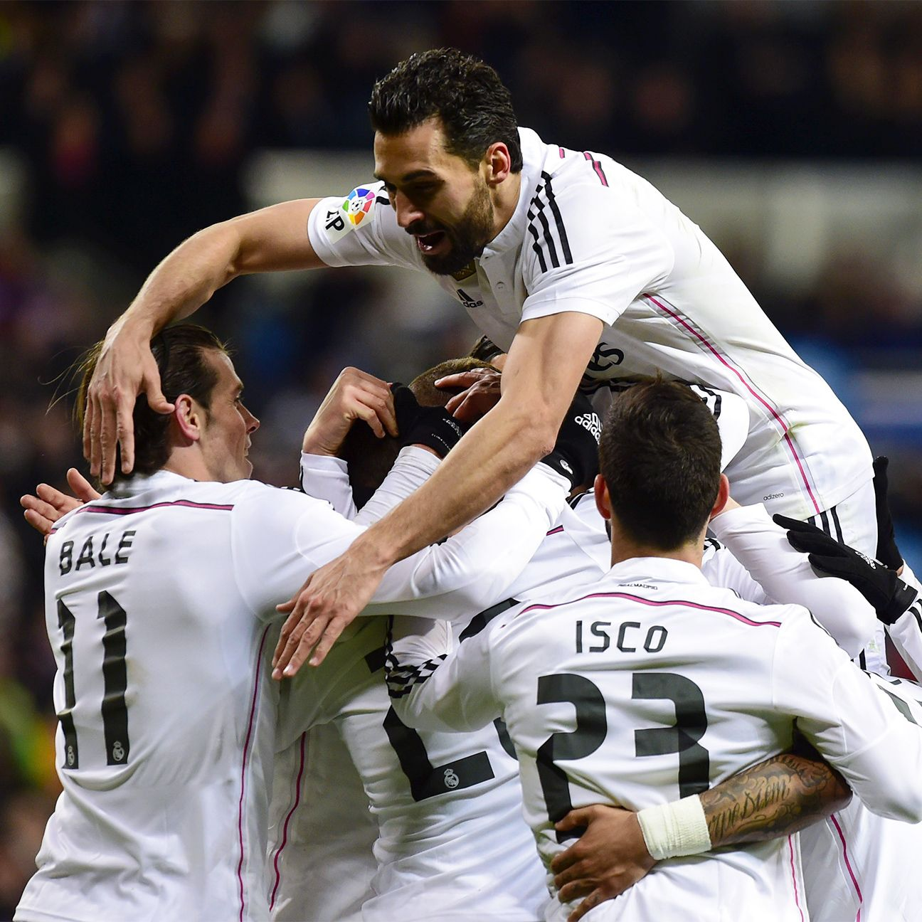 Real Madrid now hold a four point lead over Barcelona and a seven point edge over Atletico in the La Liga table.
