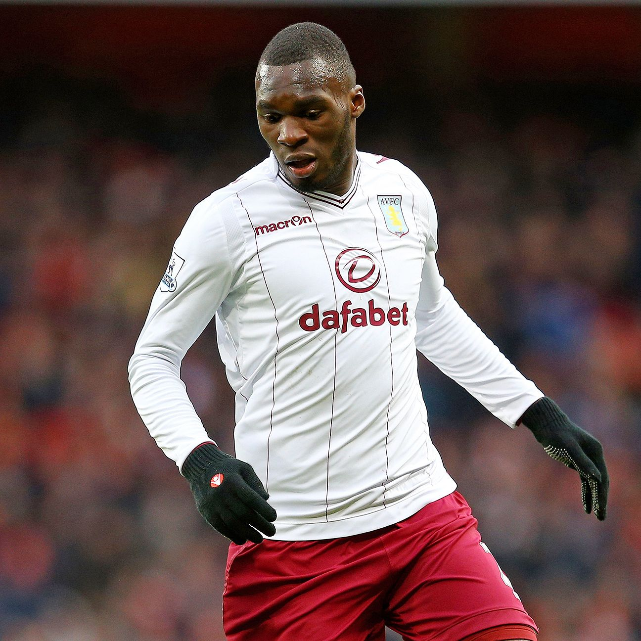 In three season at Aston Villa, Christian Benteke scored 42 Premier League goals.
