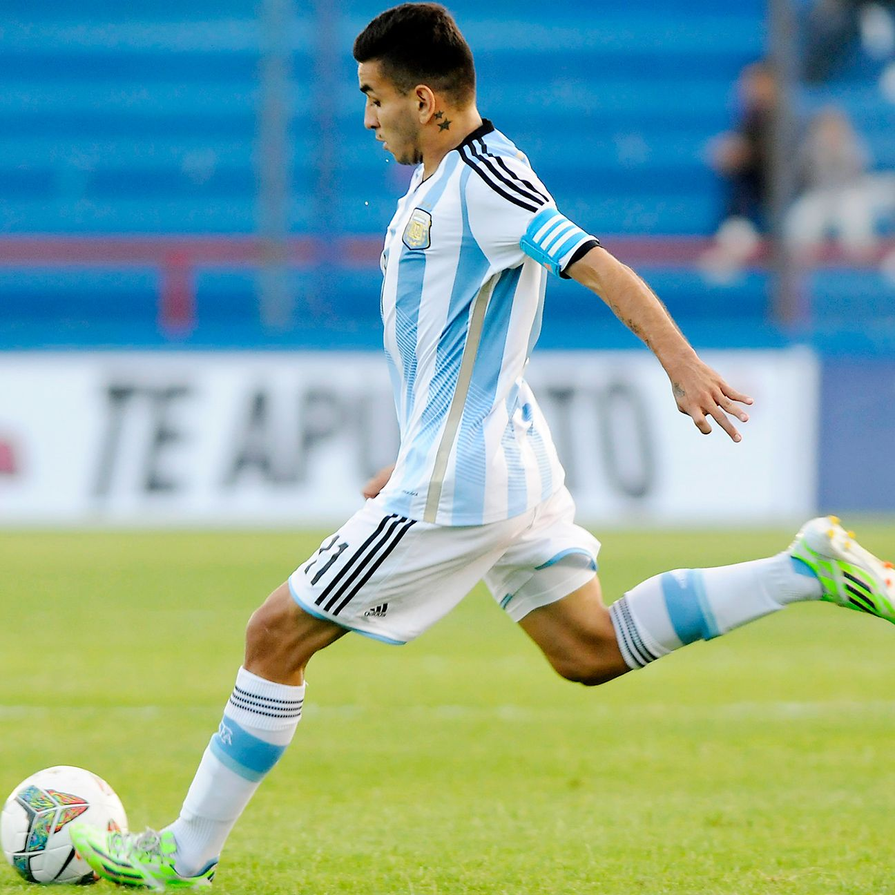 Angel Correa has been Argentina's key playmaker at the South American Under-20 Championships.