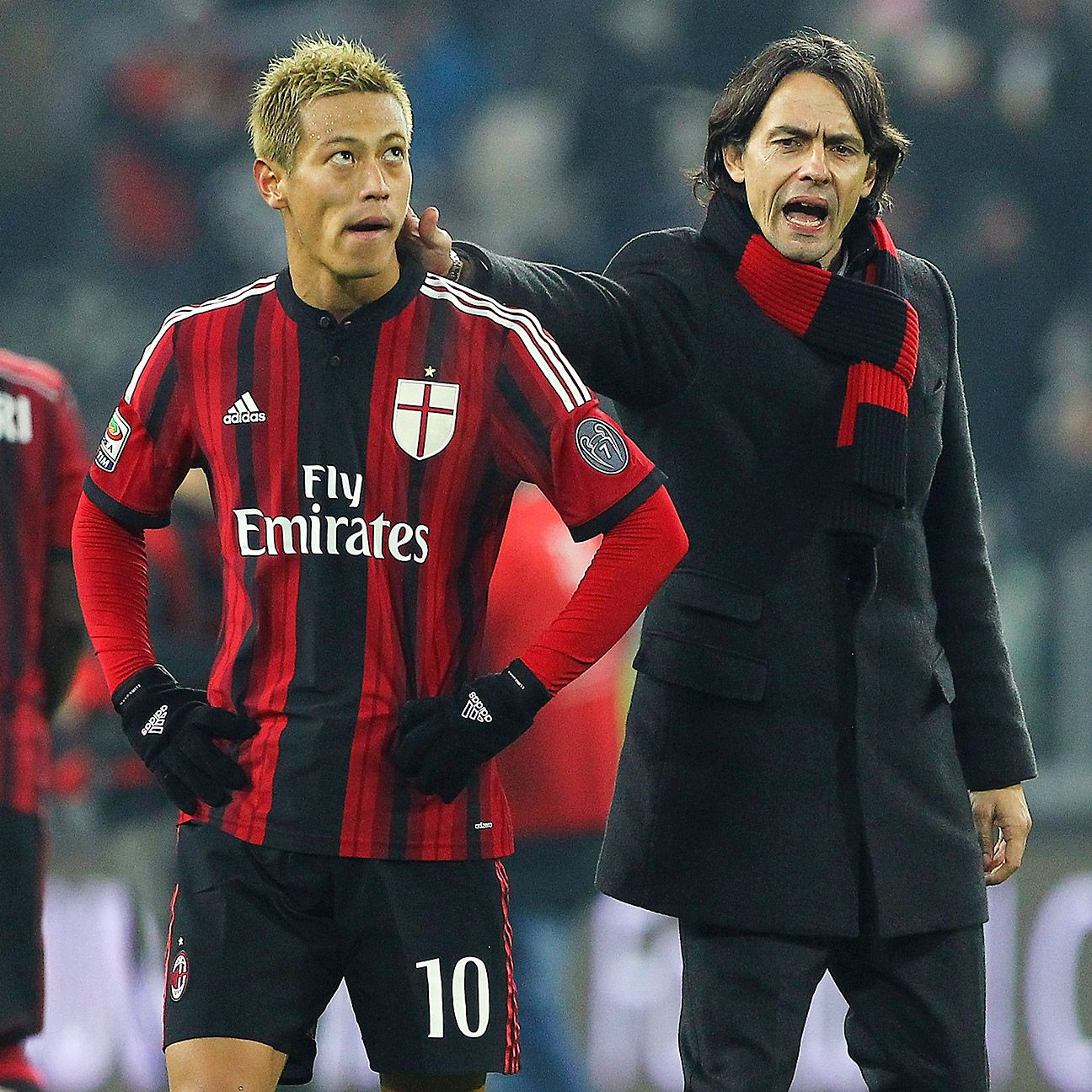 Milan showed some fight at Juventus, but in the end were left with another defeat.