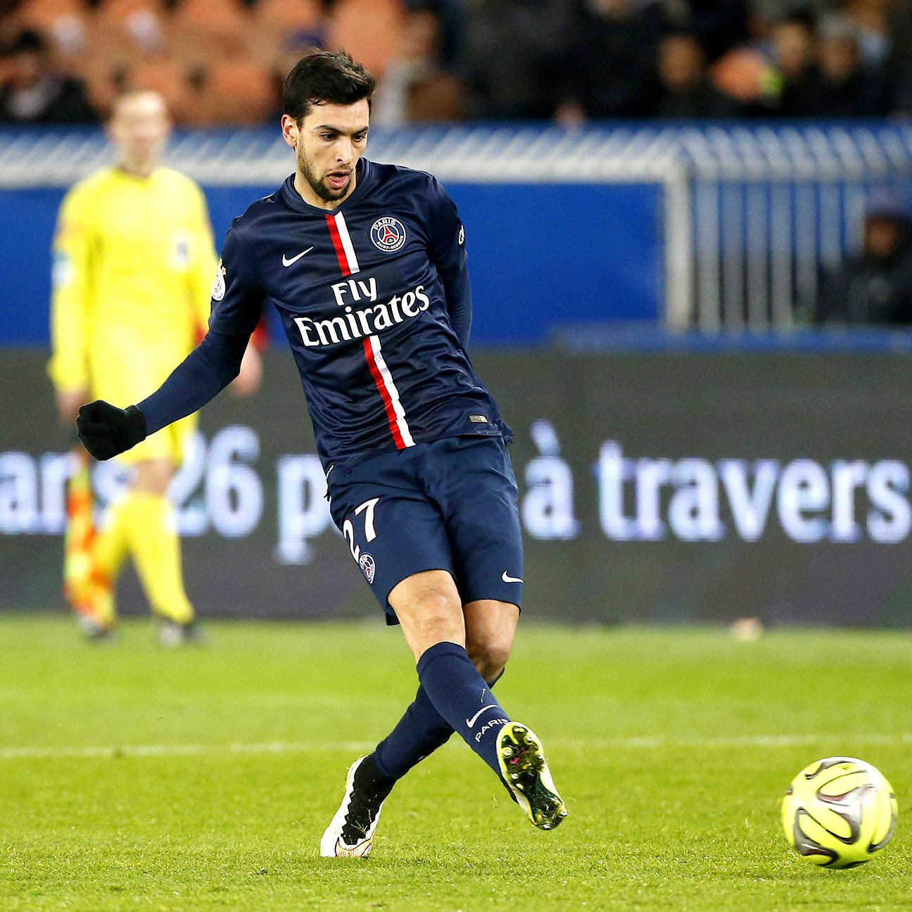 Injuries have limited Javier Pastore to just eight Ligue 1 appearances this season.