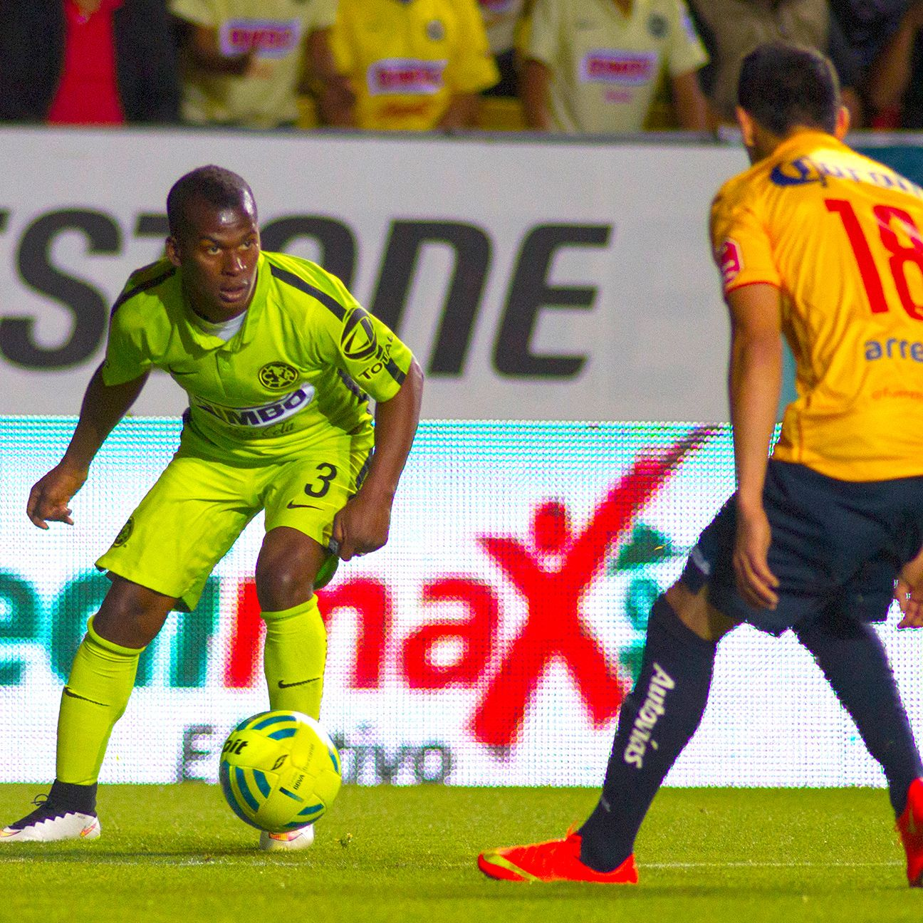 Darwin Quintero and Club America found the going tough against last-place Morelia.