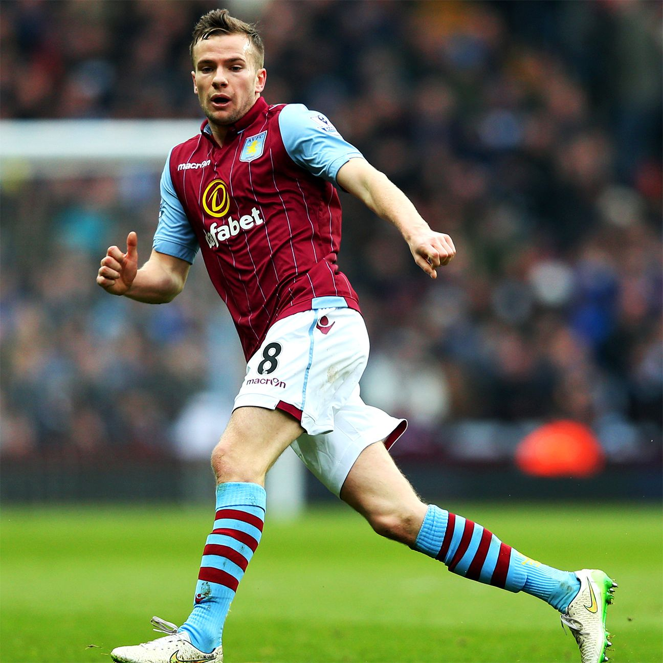 Tom Cleverley has started 20 matches this season for Aston Villa.