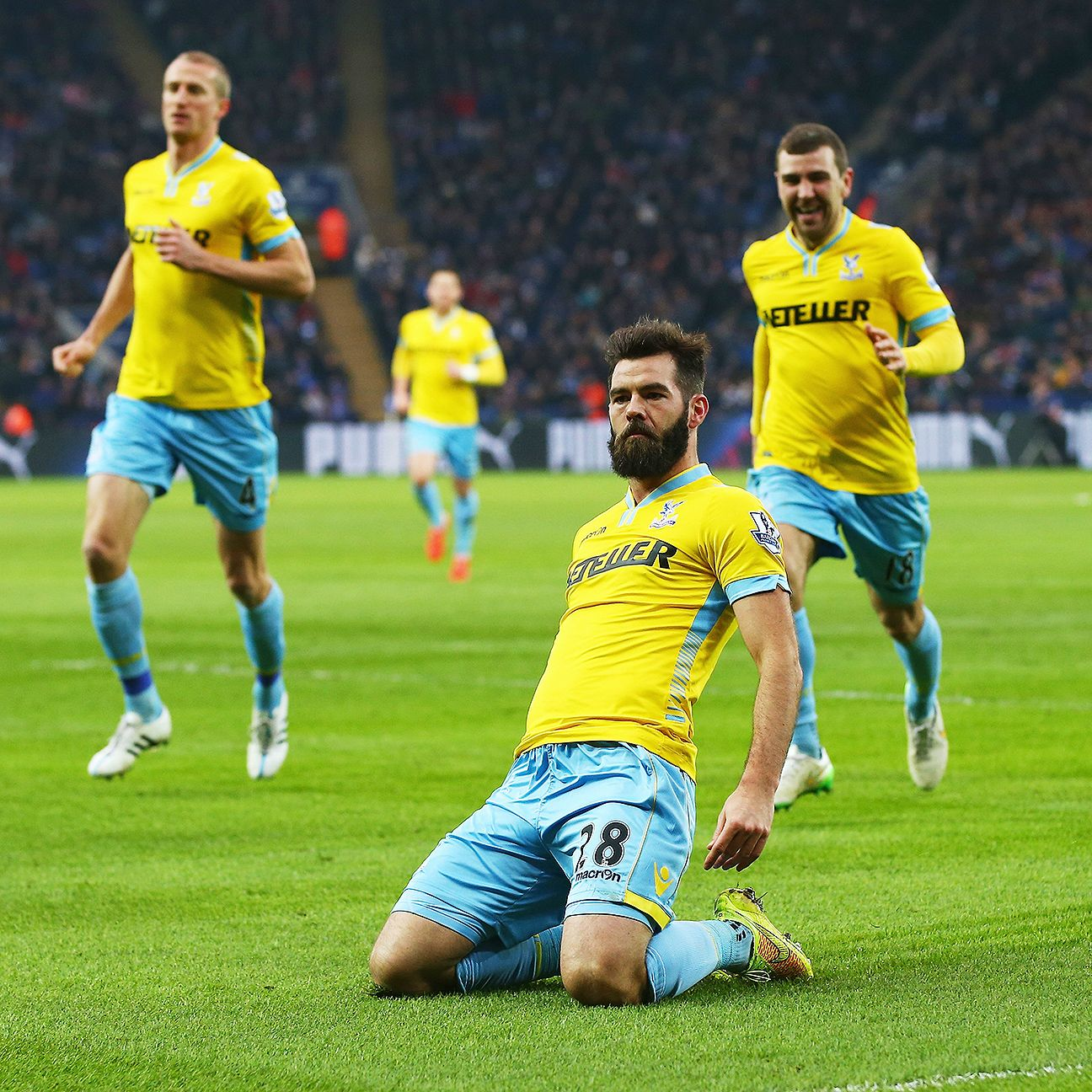 Joe Ledley was the hero for Palace in their win at Leicester.