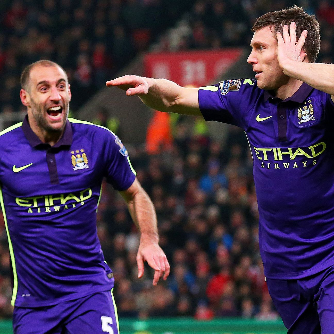 James Milner's second half goal broke a 1-1 deadlock and put City on their way to a 4-1 win.