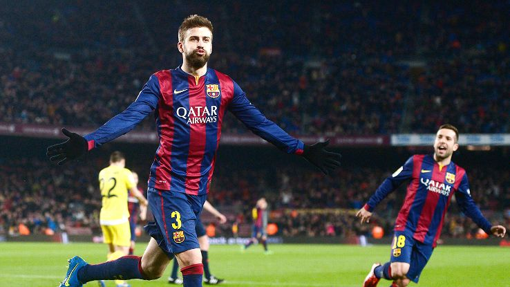 Defender Gerard Pique enjoyed a renaissance in his seventh season at the Camp Nou.