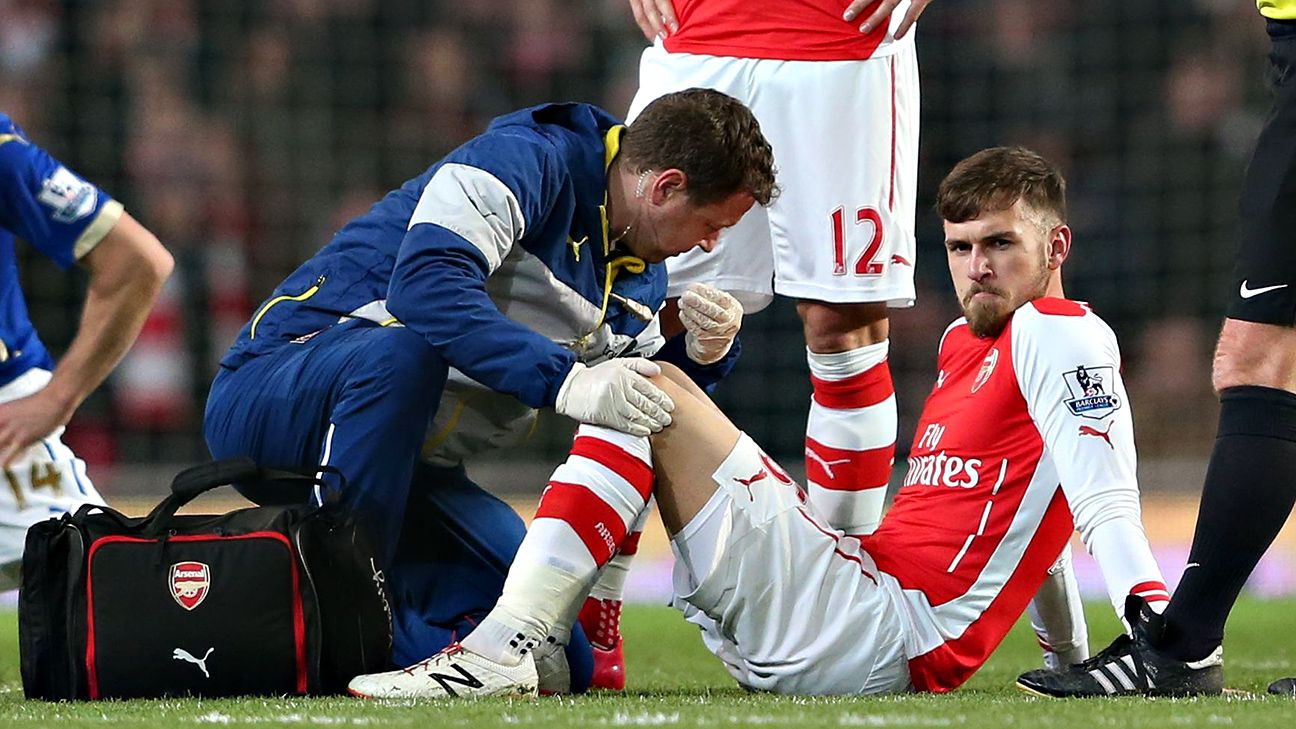 The injury bug has struck Aaron Ramsey once again.