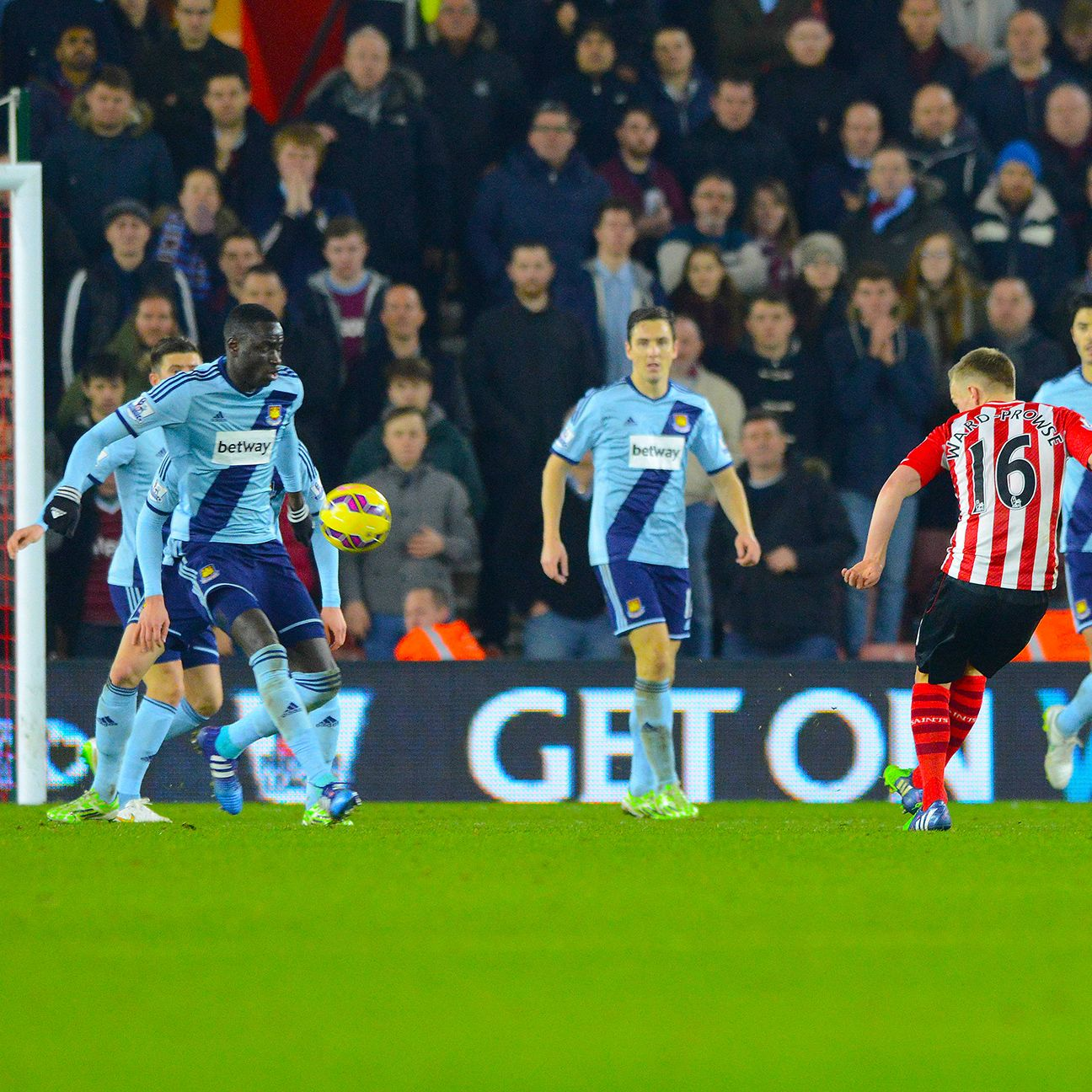 Southampton were unable to breach a sturdy West Ham defence on Wednesday.