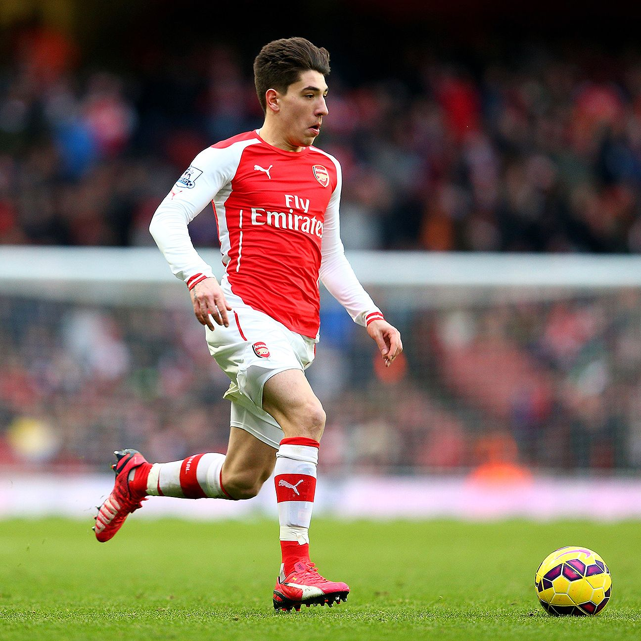 The speed gauntlet has been thrown down on Arsenal defender Hector Bellerin.