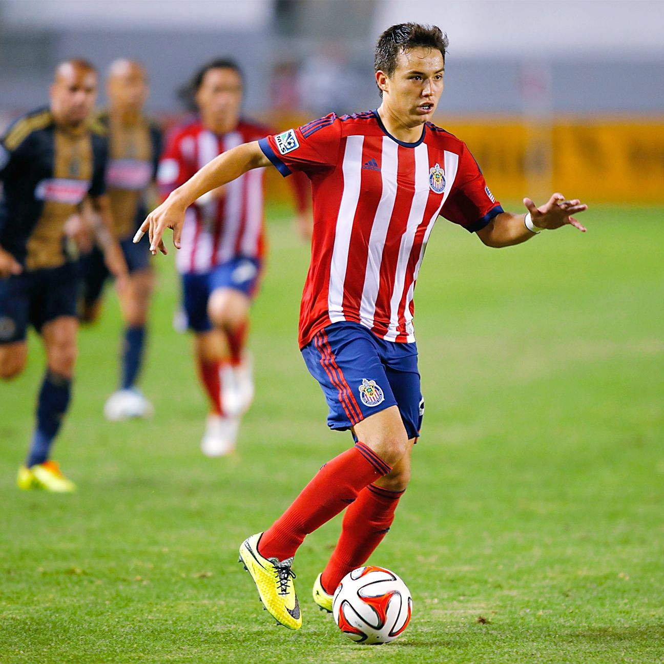 Erick Torres has yet to start a match this season for Chivas.