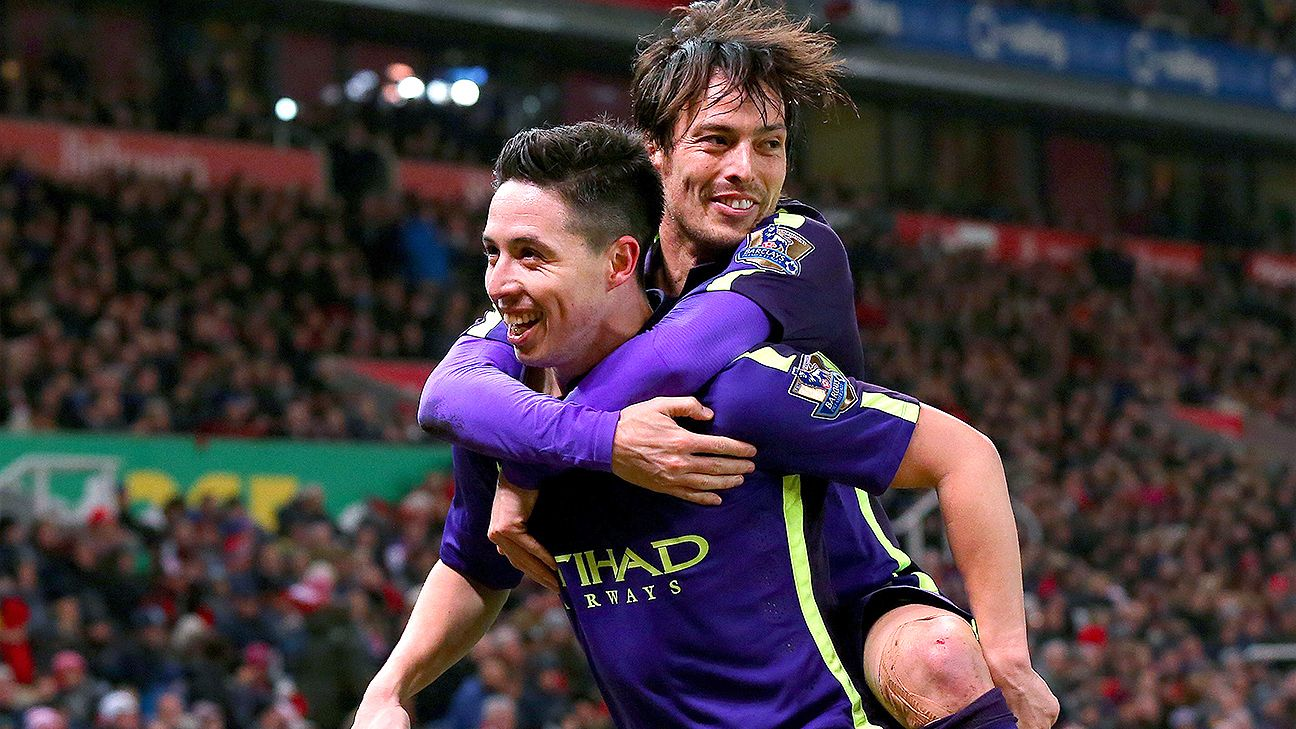 Manchester City had reason to celebrate a first ever Premier League win at Stoke's Britannia Stadium.