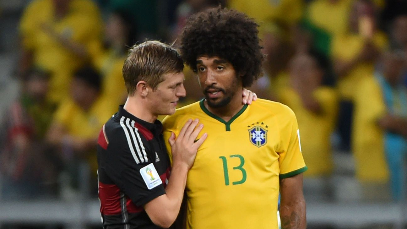Bayern Munich's Dante: People belittle me after Brazil's 7-1 loss to Germany