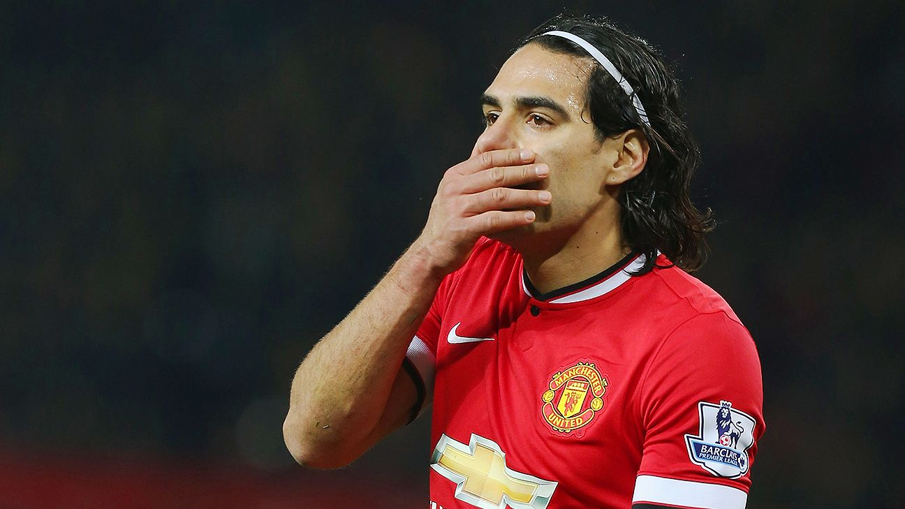 Radamel Falcao has just four goals since joining Manchester United.