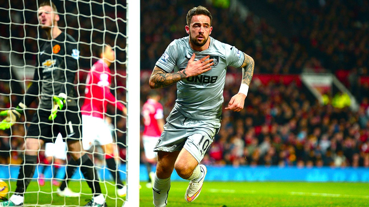 Danny Ings continued his sparkling run of form with another goal at Old Trafford.
