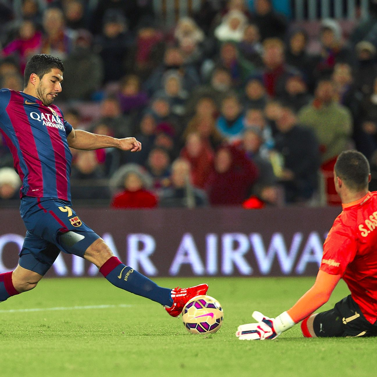 Luis Suarez's uptick in form bodes well for Barcelona.