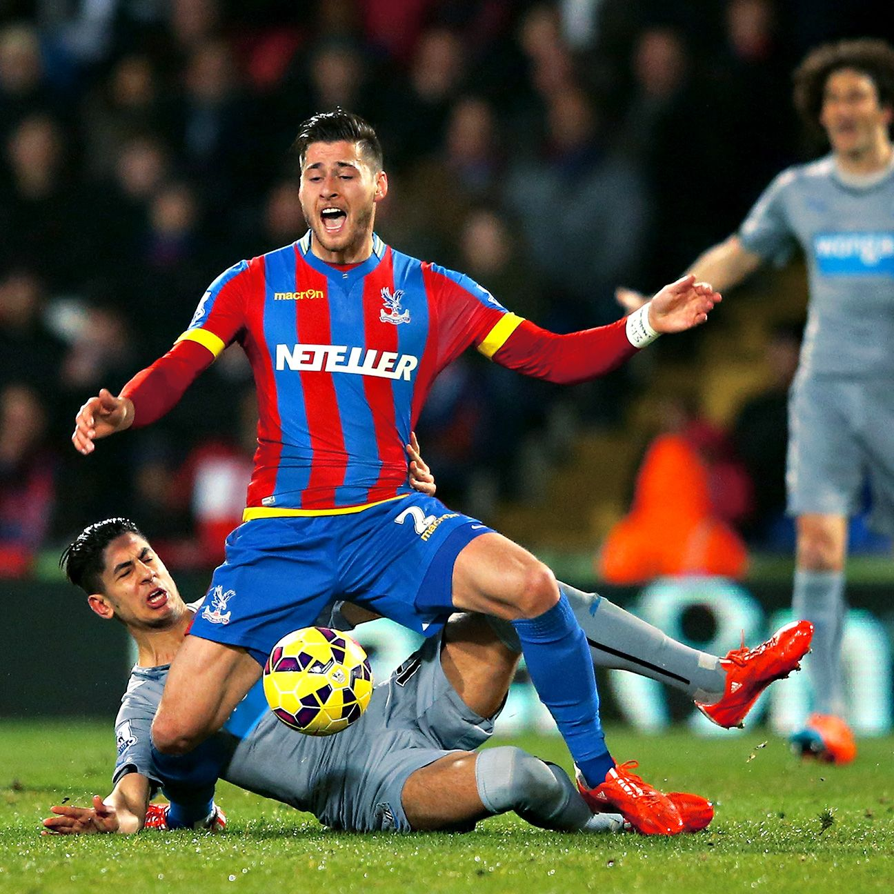 Joel Ward and Palace were held to a point against visiting Newcastle.