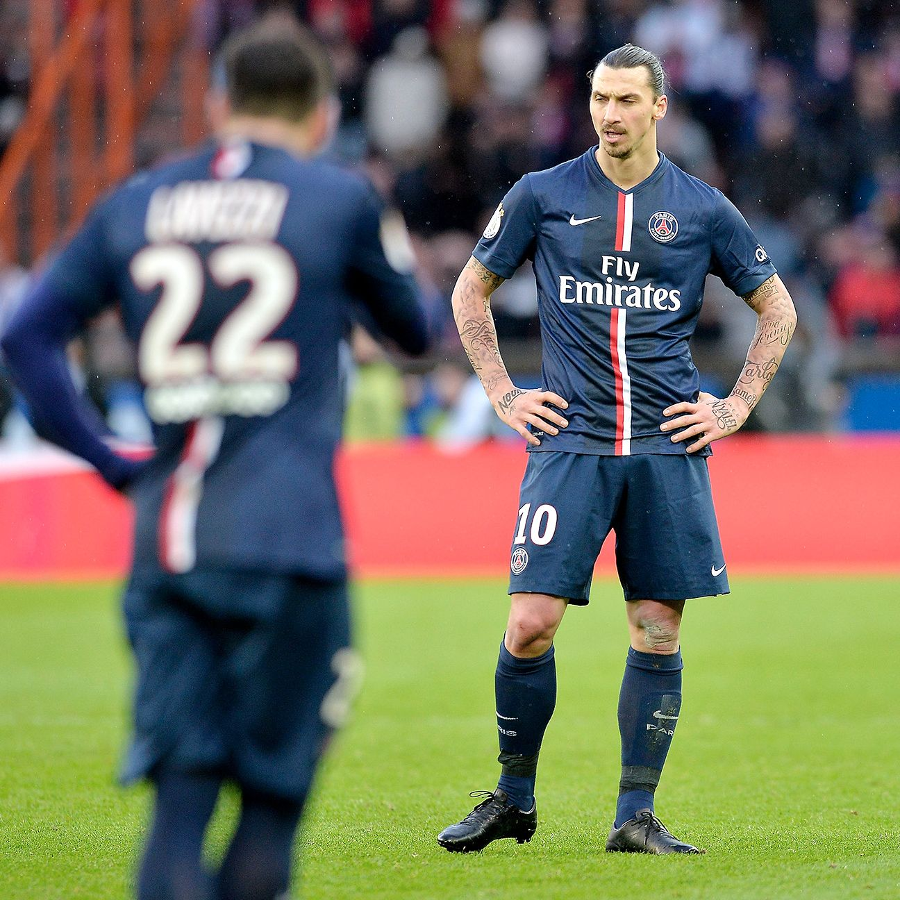 Zlatan Ibrahimovic and PSG were left to rue a late collapse that saw them cough up two points in the Ligue 1 title race.