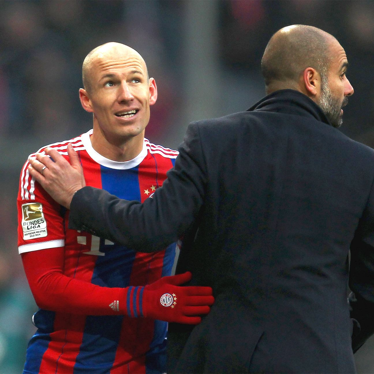 When fit, Arjen Robben is an integral part of Pep Guardiola's Bayern Munich.