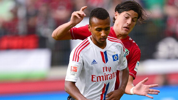 Julian Green has struggled mightily since joining Hamburg on loan.