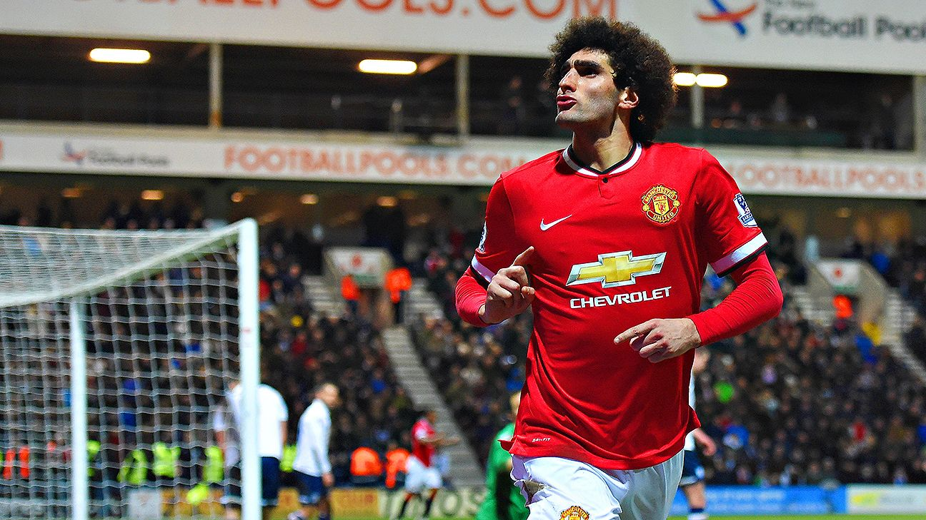 Milan are struggling in Serie A and could use some help from Man United's Marouane Fellaini in attack.