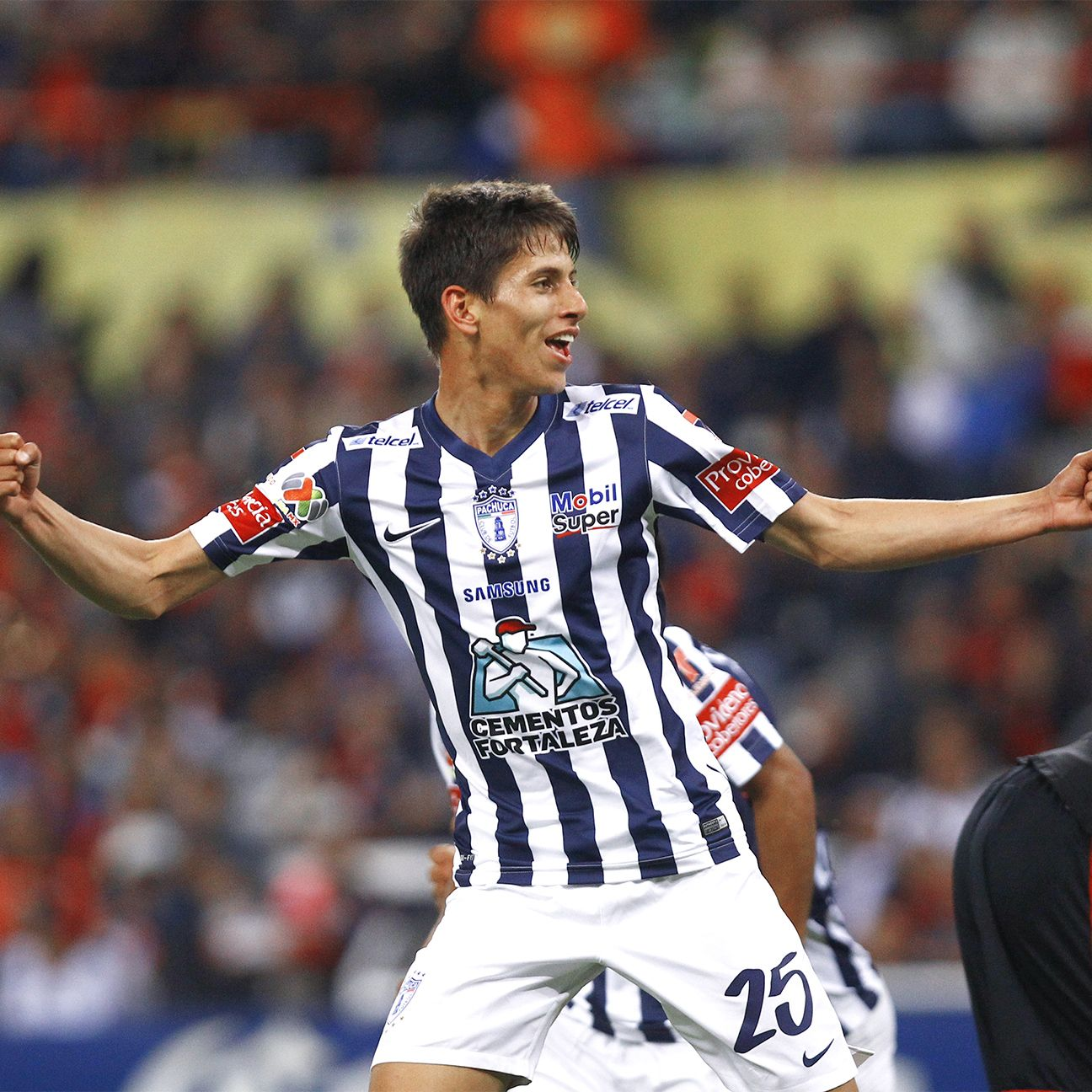 Premier League target Jurgen Damm spearheaded Pachuca's 3-1 win at Atlas on Saturday.