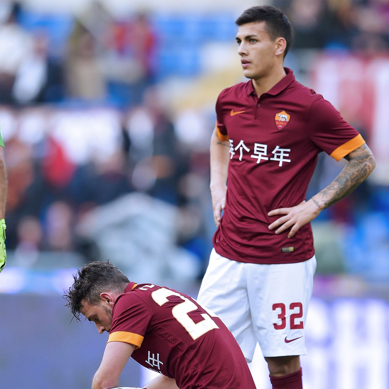 Leandro Paredes and Roma were left frustrated by their 0-0 home draw with Parma.