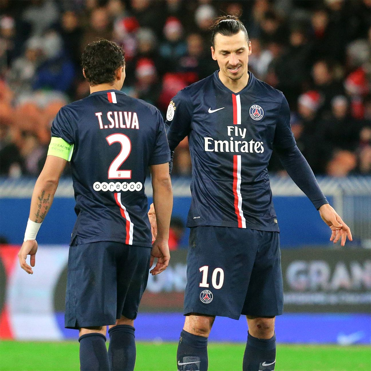 The eyes of all PSG fans will be focused squarely on team captain Thiago Silva and talisman Zlatan Ibrahimovic in Tuesday's clash with Chelsea.
