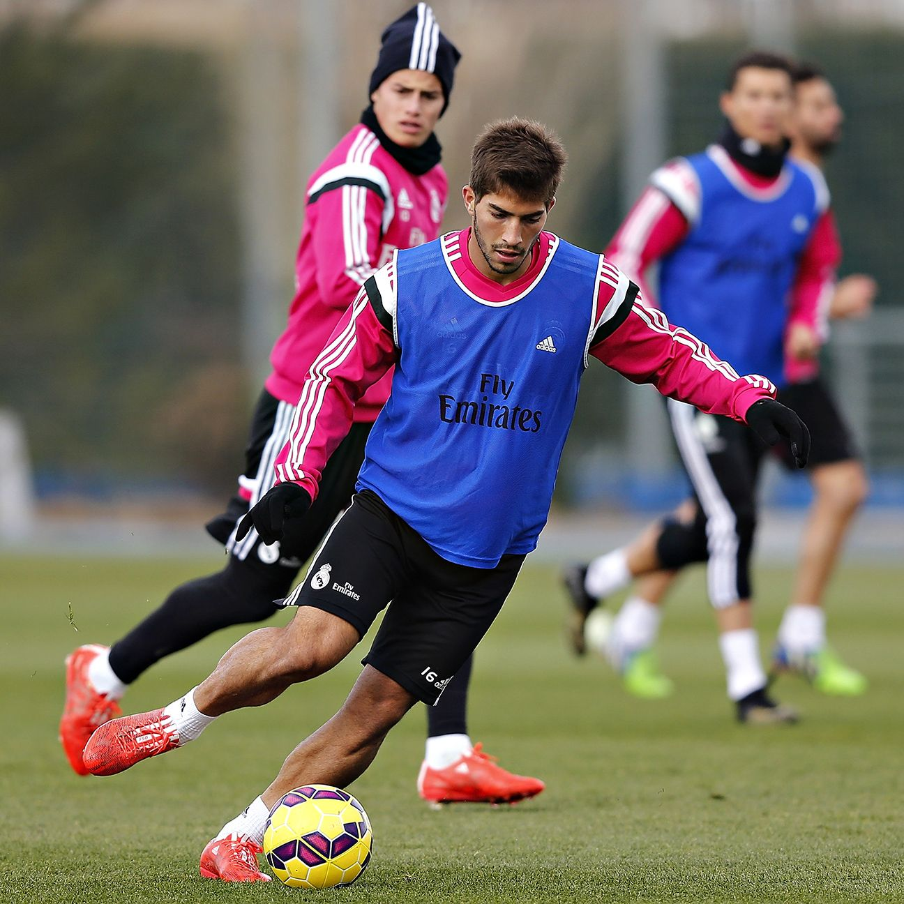 New arrival Lucas Silva could be in line for a start in Real Madrid's depleted midfield.