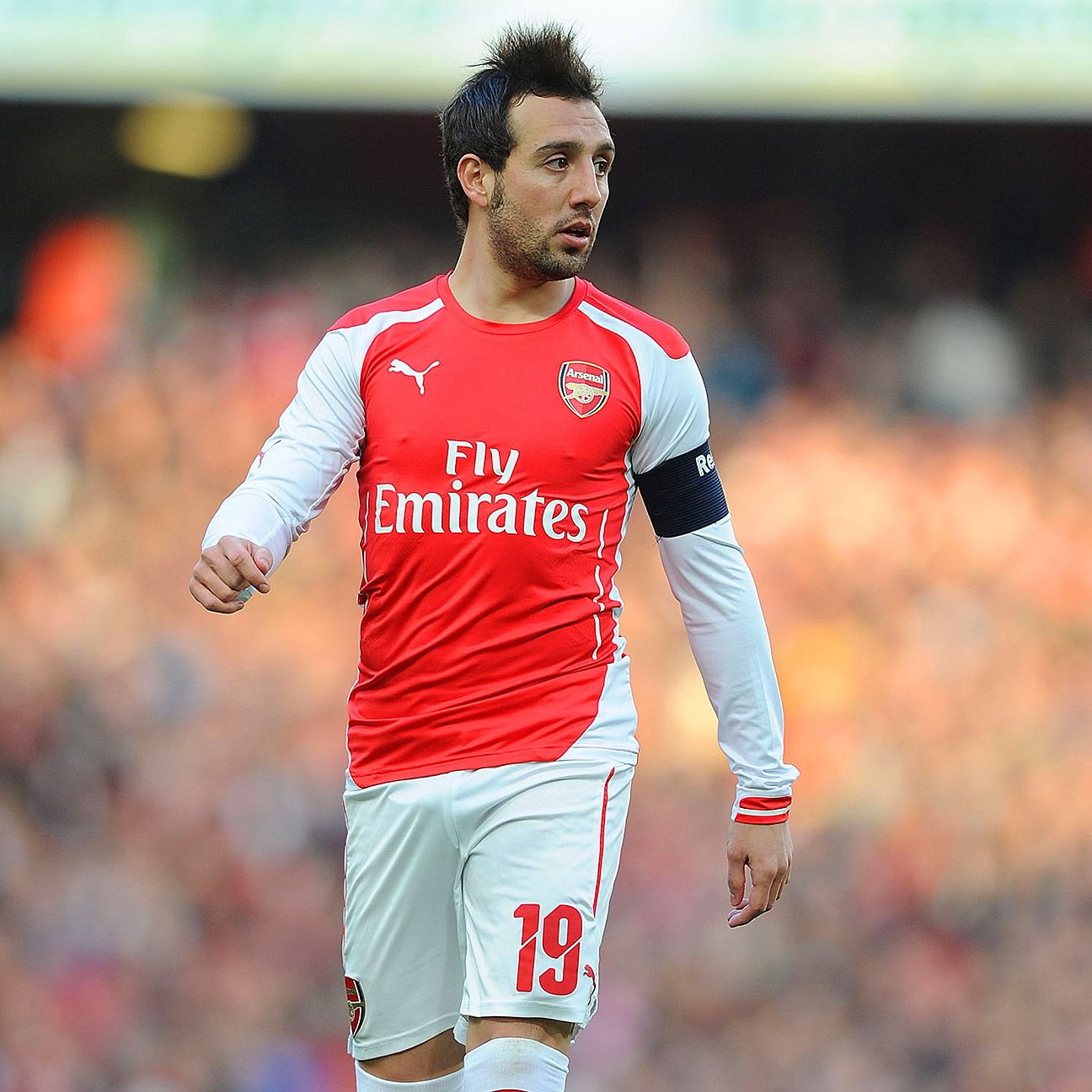 Santi Cazorla's enthusiasm for the game is widely appreciated by the Arsenal faithful.