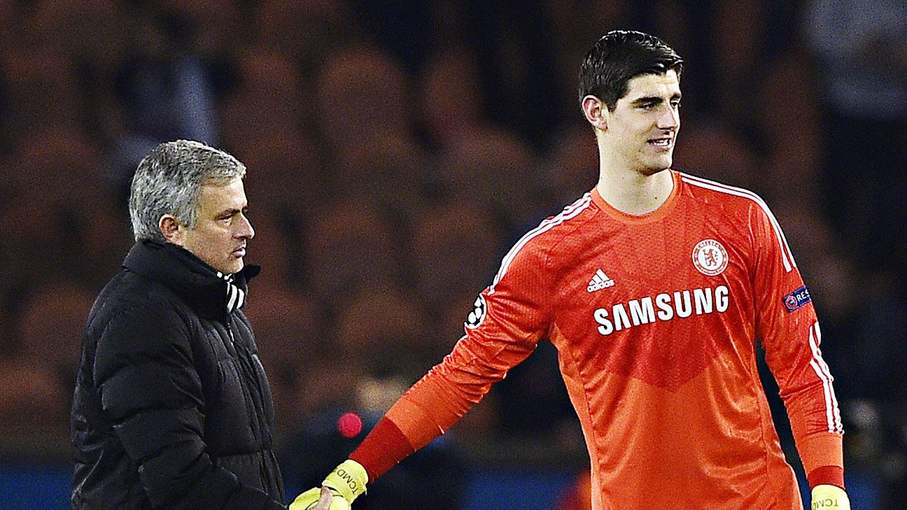 Jose Mourinho's Chelsea are in good shape heading home for next month's second leg thanks to Thibaut Courtois.