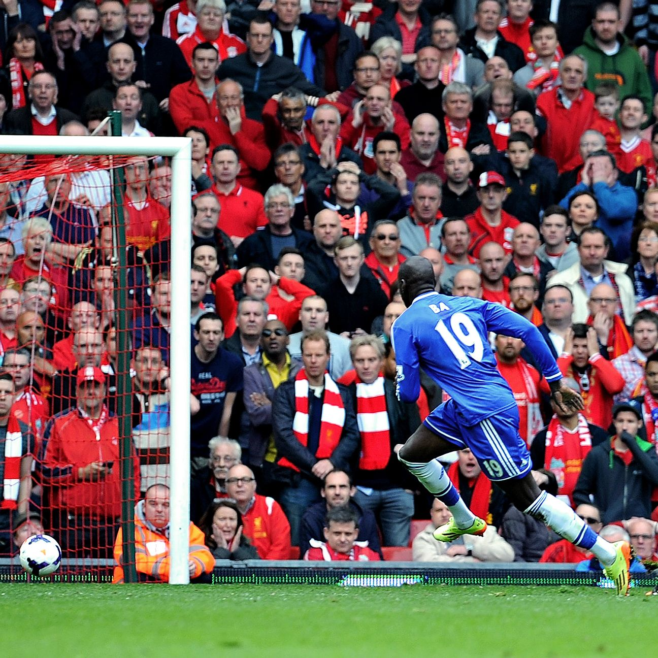 Demba Ba broke Liverpool hearts last season by dashing their title hopes when he scored off of Steven Gerrard's slip.