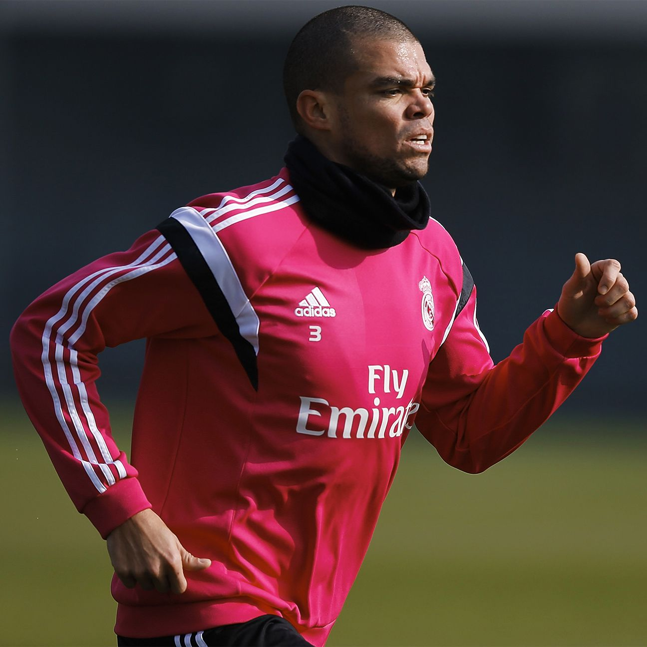 Pepe is slotted to start on the Real Madrid back line in his first match back from injury.