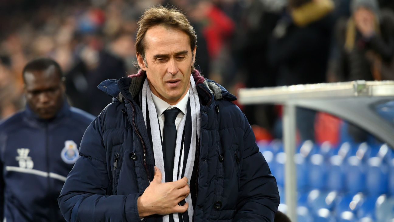 Julen Lopetegui has been sacked as Spain's coach one day before the World Cup begins.