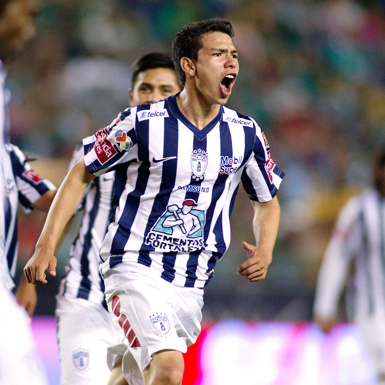Hirving Lozano is just one of many promising players emerging from Pachuca's youth ranks.