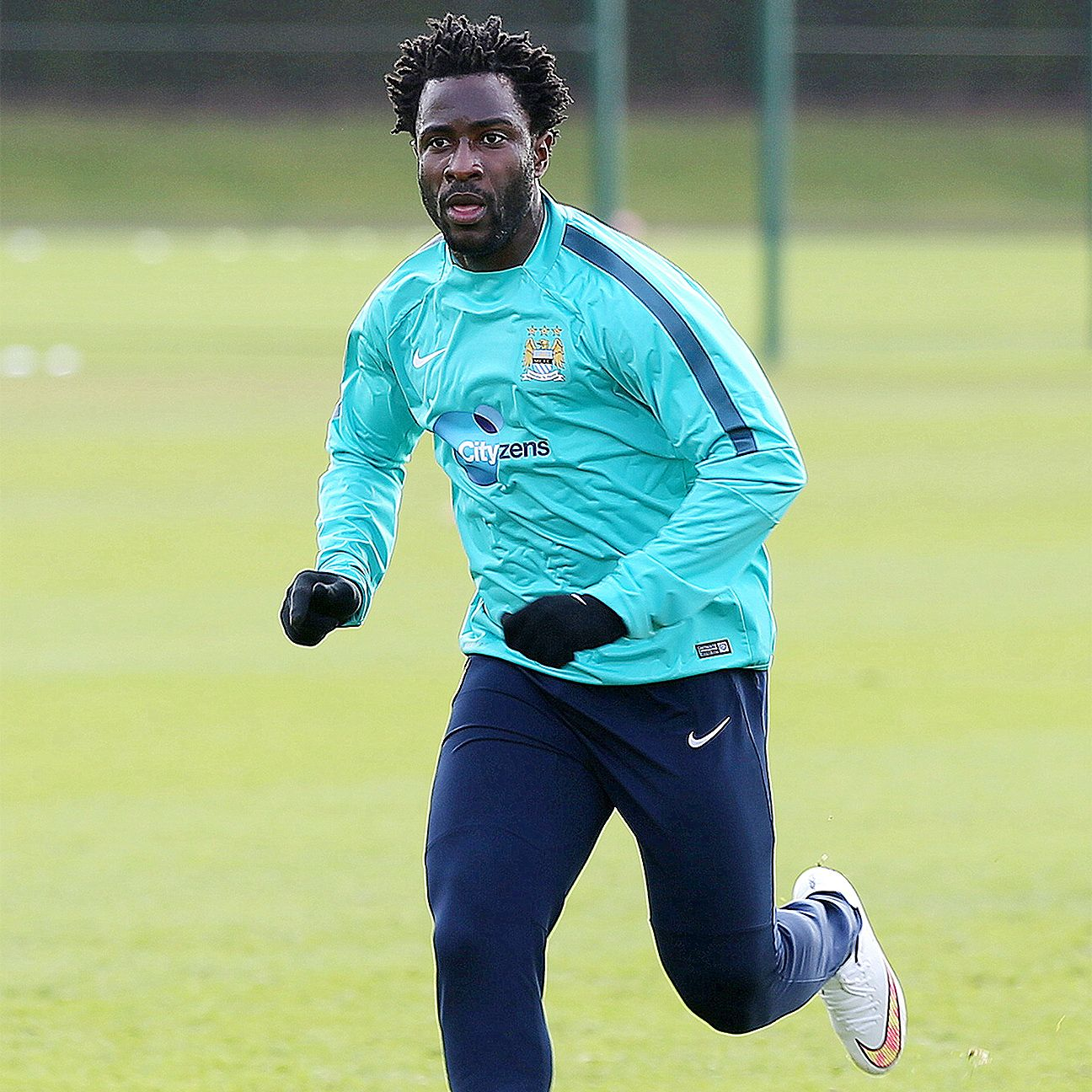 Wilfried Bony has yet to score for Manchester City in 2015-16.