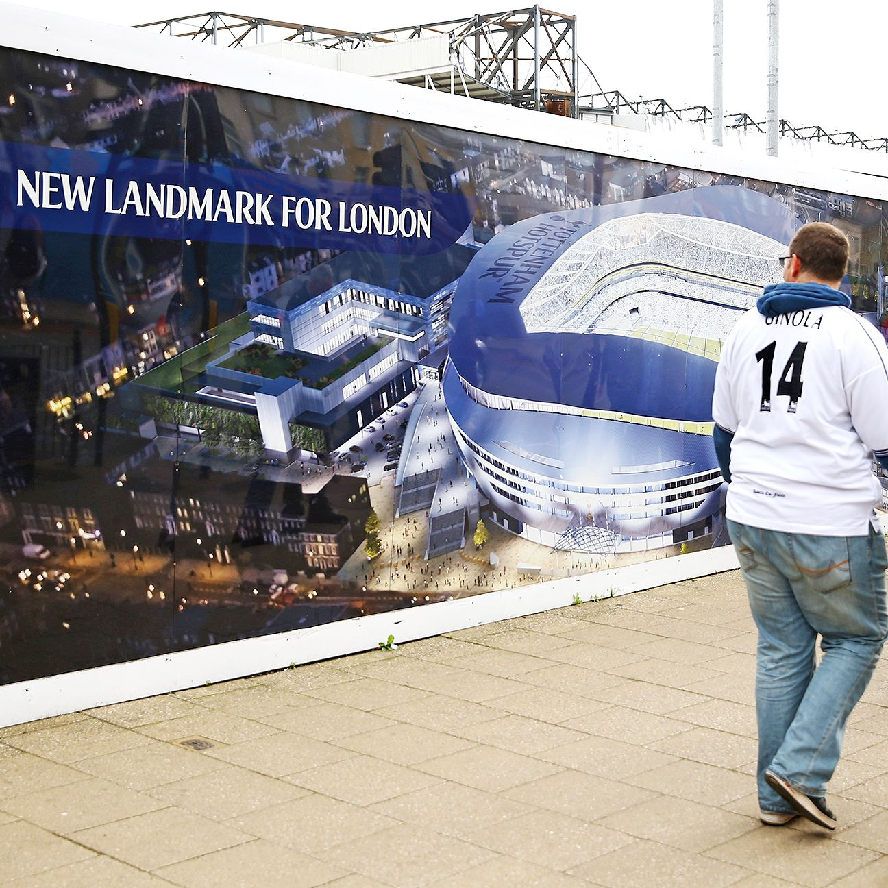 While a new Tottenham stadium looks set for the future, the club must still figure out where fans will be able to watch their team during construction.