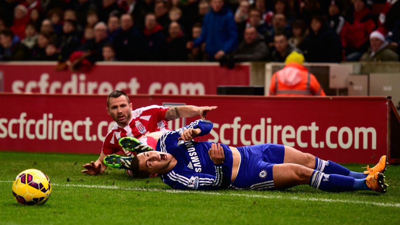 Eden Hazard asks Chelsea boss Jose Mourinho for new shin pads