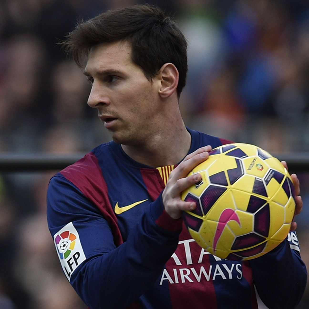 There was no way through Malaga's stout defence for Lionel Messi and Barcelona.