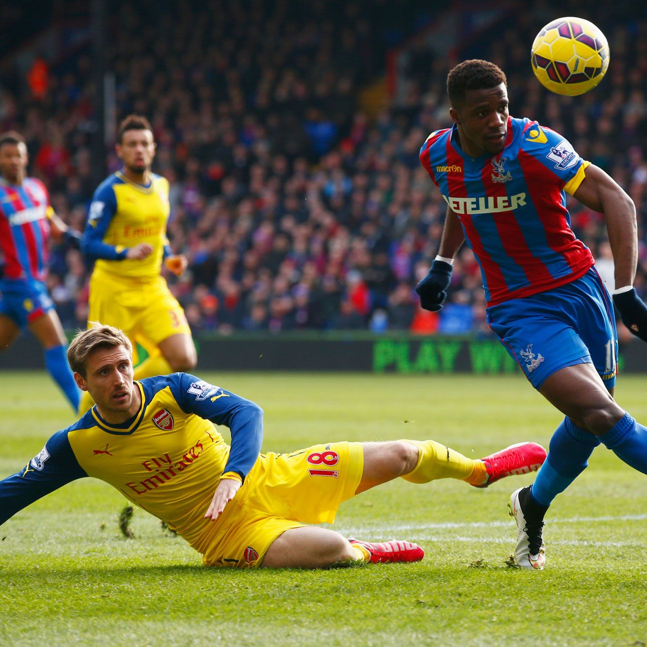 Wilfried Zaha and Crystal Palace will hope their Arsenal hoodoo comes to an end in Week 2.