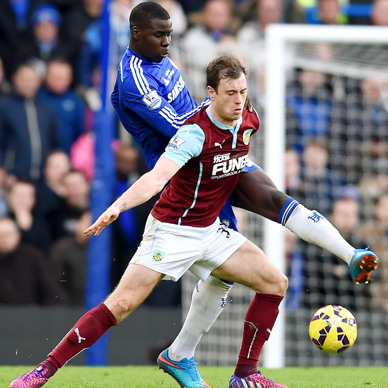 Controversy aside, Ashley Barnes delivered a solid performance up top for Burnley at Chelsea.