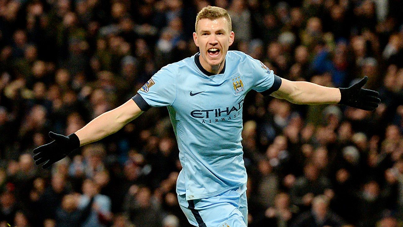 A Sterling arrival to City could pave the way to Edin Dzeko playing at Anfield in 2015-16.
