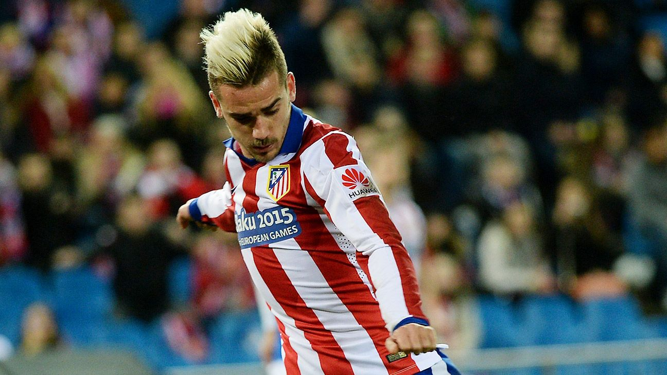 A brace from Antoine Griezmann helped Atletico settle matters with Almeria by halftime.