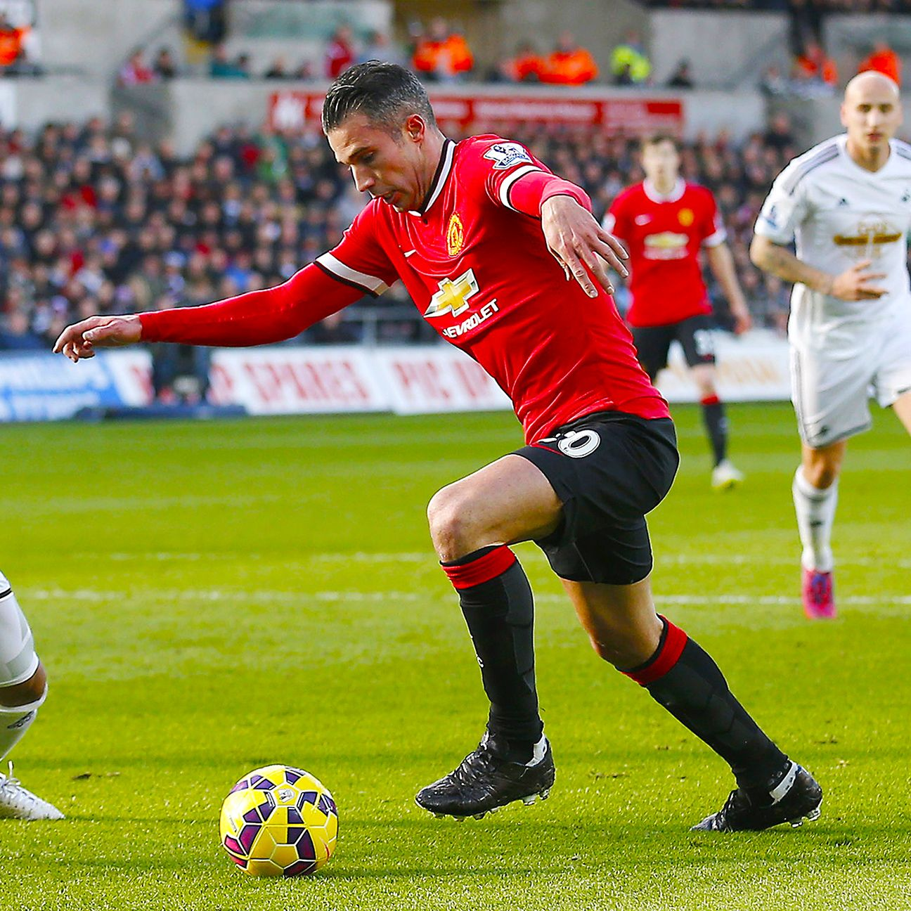 Robin van Persie has been out of action for Manchester United since last month's 2-1 defeat at Swansea.