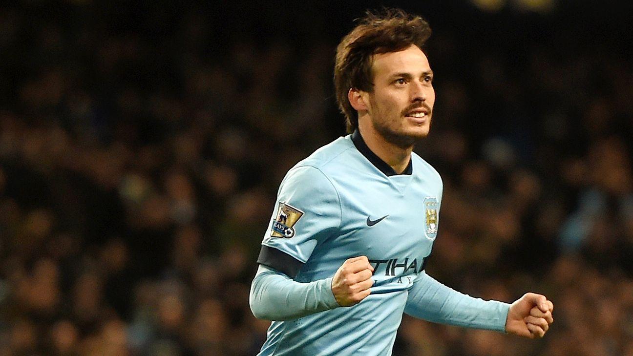 David Silva capped Manchester City's stellar evening with a second-half brace.