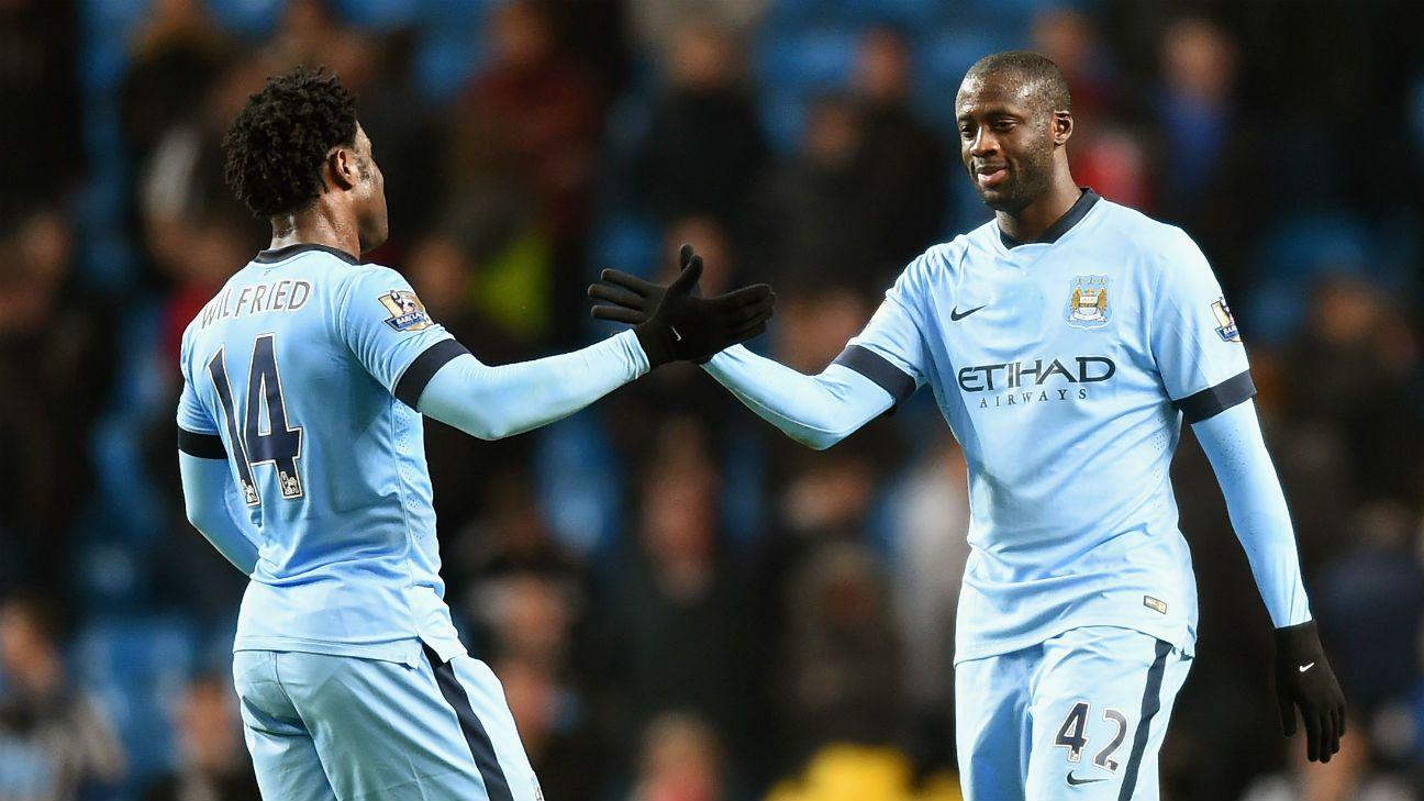 Yaya Toure 'very happy' at Manchester City, says Manuel Pellegrini