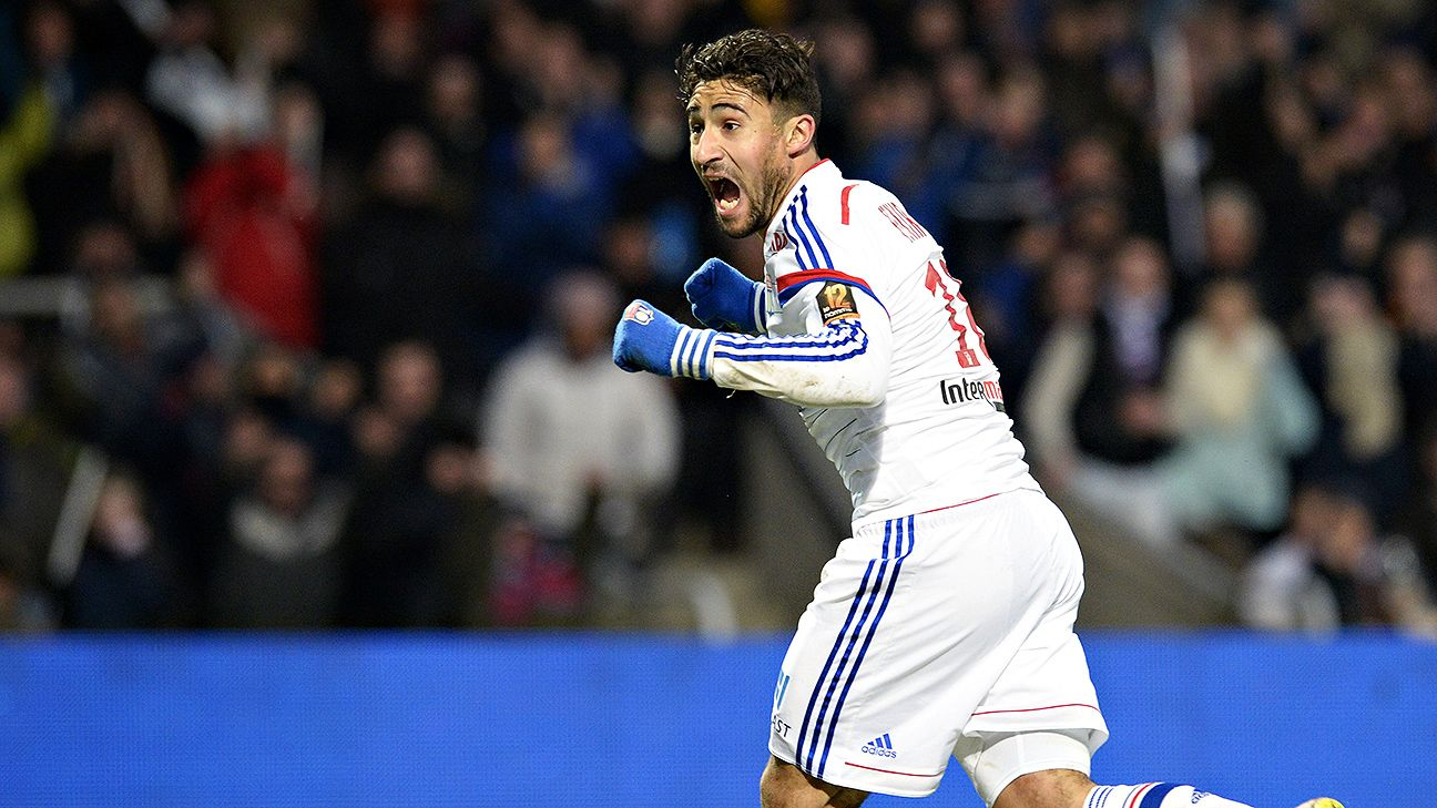 Lyon say Nabil Fekir has opted to play for France, not Algeria