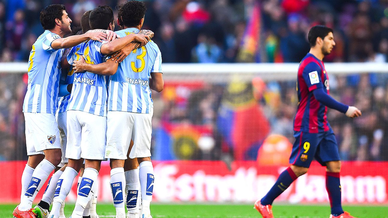How Malaga beat Barcelona and what Manchester City can learn from it