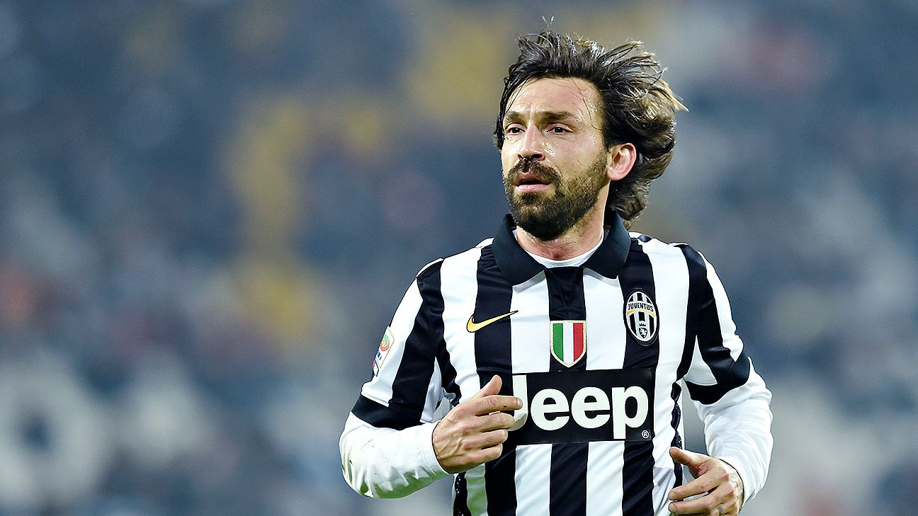 Andrea Pirlo will have to make the most of his time on the ball against Barcelona's swirling midfielders and defenders.